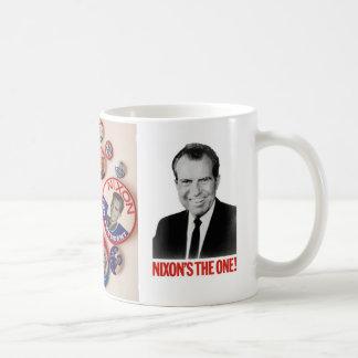 Richard Nixon Button Collector Mug