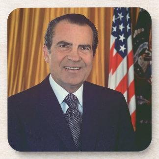 Richard Nixon Drink Coasters