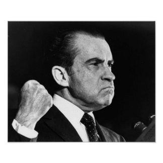 Richard Nixon Mad Poster