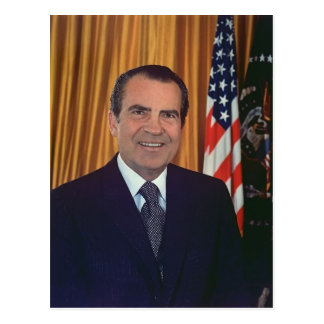 Richard Nixon Postcard