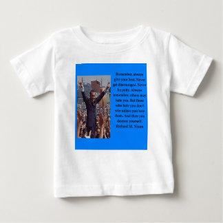 Richard Nixon quote Baby T-Shirt