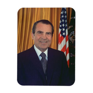 Richard Nixon Rectangular Photo Magnet