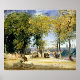 Richard Parkes Bonington View near Rouen Poster