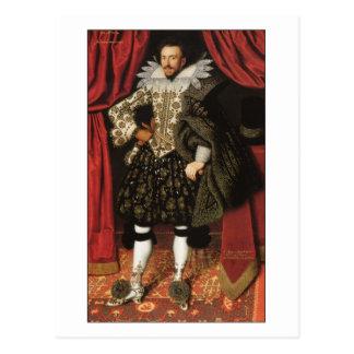 Richard Sackville by William Larkin Postcard