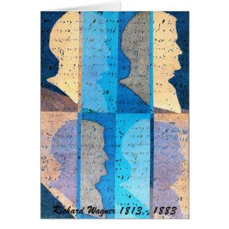 Richard Wagner Profile Art Card