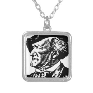 Richard  Wagner Silver Plated Necklace
