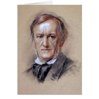 Richard Wagner - The Music Genius Greeting Card