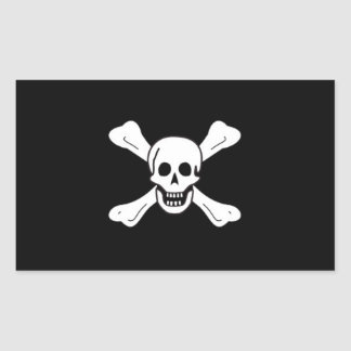 Richard Worley's Pirate Flag Sticker