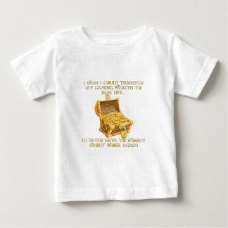 Richesse de jeu t-shirt pour bébé