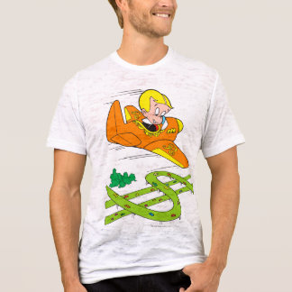 Richie Rich Flying Plane - Color T-Shirt