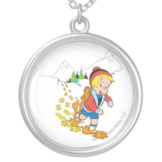 Richie Rich Hiking - Color Silver Plated Necklace