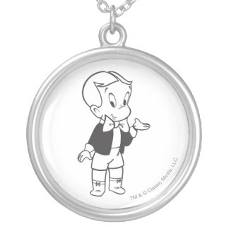 Richie Rich Standing Silver Plated Necklace