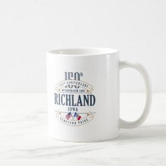 Richland, Iowa 150th Anniversary Mug