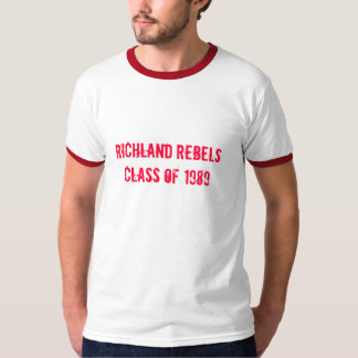 Richland Rebels Class of 1989 T-Shirt