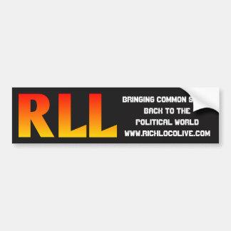RichLoco LIVE 2nd Edition Bumper Sticker