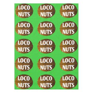 RichLoco LIVE Loco Nuts Cotton Tablecloth