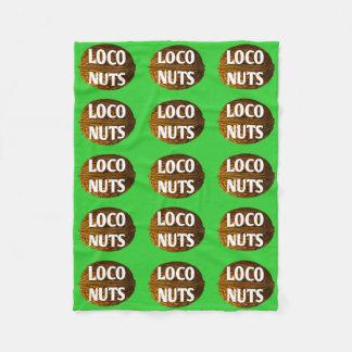 RichLoco LIVE Loco Nuts Fleece Blanket