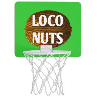 RichLoco LIVE Loco Nuts Mini Basketball Goal Mini Basketball Hoop