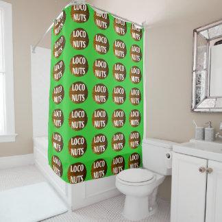 RichLoco LIVE Loco Nuts Shower Curtain