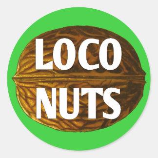 RichLoco LIVE Loco Nuts Stickers