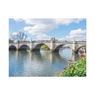 Richmond Bridge London canvas print