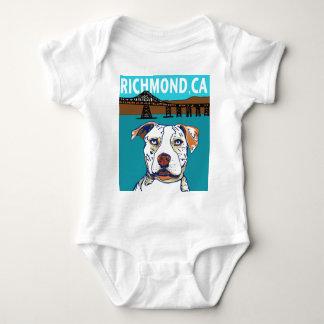 Richmond, CA Mutt Baby Bodysuit