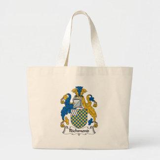 Richmond Family Crest Jumbo Tote Bag