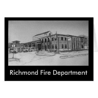 Richmond Fire Department Card