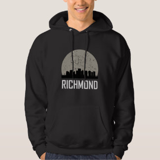 Richmond Full Moon Skyline Hoodie