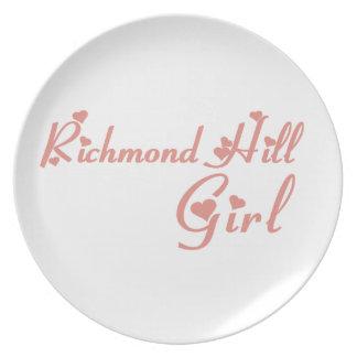 Richmond Girl Plate