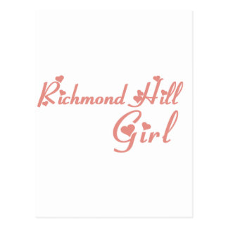 Richmond Girl Postcard