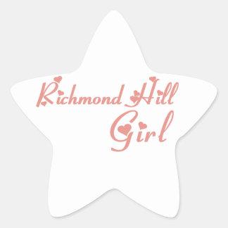 Richmond Girl Star Sticker