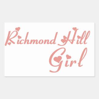 Richmond Girl Sticker