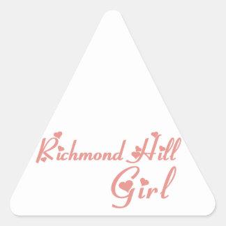 Richmond Girl Triangle Sticker
