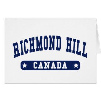 Richmond Hill Card
