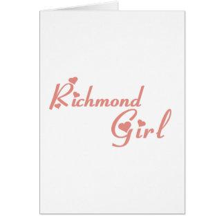 Richmond Hill Girl Card