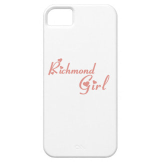 Richmond Hill Girl iPhone 5 Cover