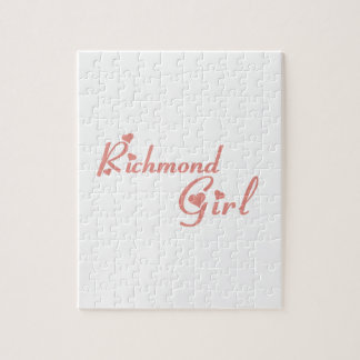 Richmond Hill Girl Jigsaw Puzzle