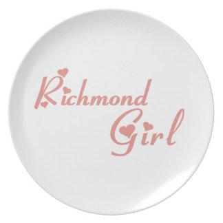 Richmond Hill Girl Plate