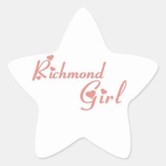 Richmond Hill Girl Star Sticker