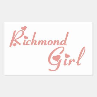 Richmond Hill Girl Sticker