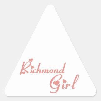 Richmond Hill Girl Triangle Sticker