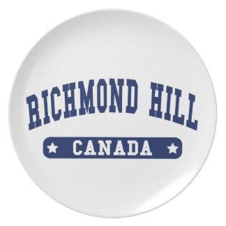 Richmond Hill Plate