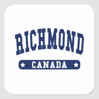 Richmond Square Sticker