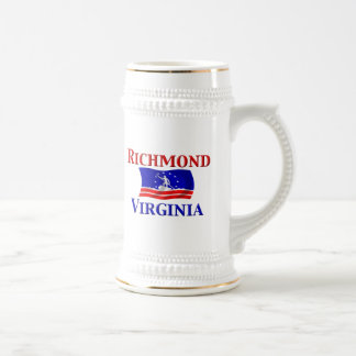 Richmond, VA Beer Stein