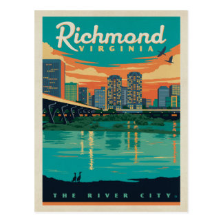 Richmond, VA Postcard