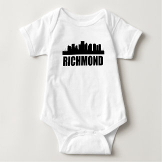 Richmond VA Skyline Baby Bodysuit