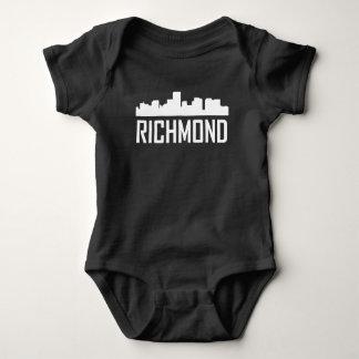 Richmond Virginia City Skyline Baby Bodysuit