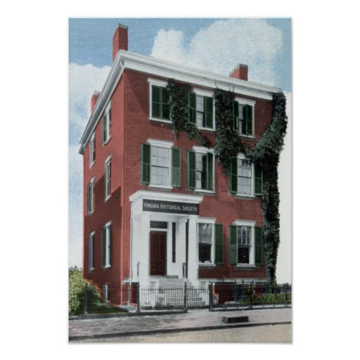 Richmond Virginia Lee House 7th Franklin Posters