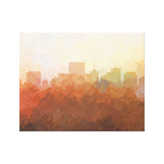 RICHMOND, VIRGINIA SKYLINE-In the Clouds Canvas
